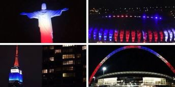 The world supports Paris